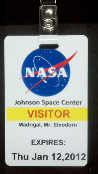 2012-01-10 NASA - Johnson Space Center
