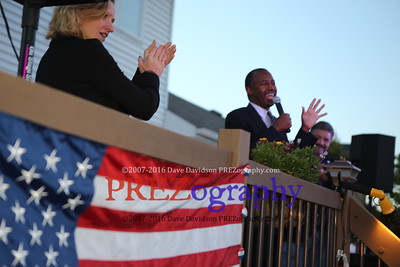 Ben Carson 10-1-15 Taylor House Party