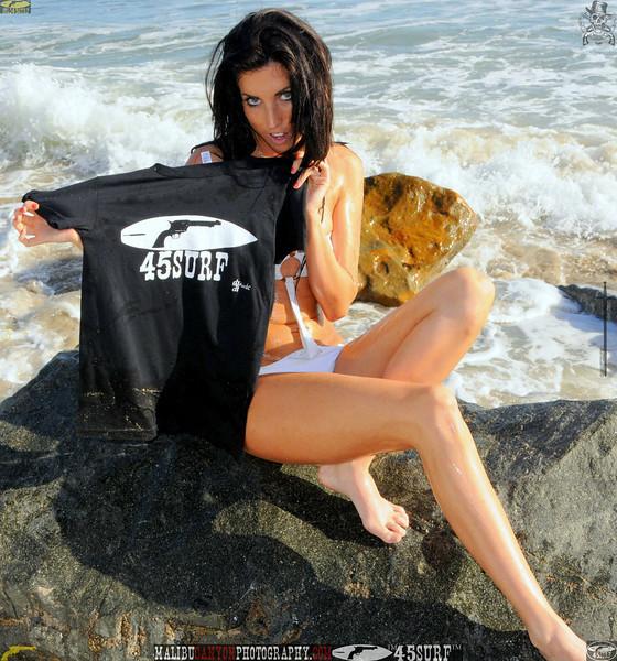 beautiful woman sunset beach swimsuit model 45surf 815.09..