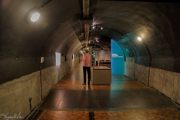 The Bunker at the Memorial de Caen
