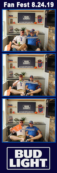 BudLight Fan Fest-UF vs UM Game