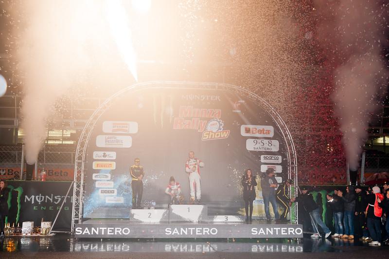 Premiazioni Masters' Rally e Monza Rally Show