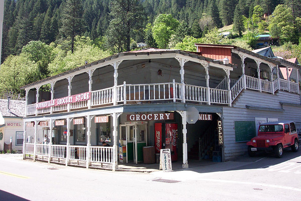 Downieville with Sylvie
