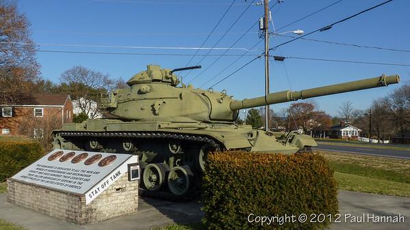 AL Post 27 - Dayton, VA - M60A3
