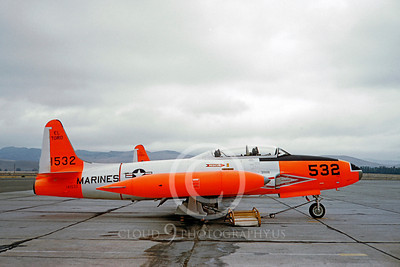 US Marine Corps Lockheed T-33 Shooting Star Military Airplane Pictures