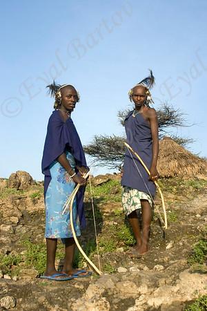 kenyan & Tanzanian  tribes- שבטי מזרח אפריקה