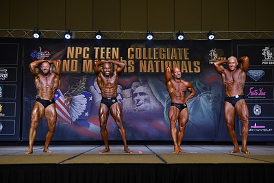 Classic Physique 50+ Overall