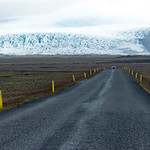 Road to Glacier, Iceland
