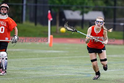 Girls Lacrosse Yorktown 5/10/13