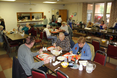 Roast Beef Dinner, Trinity U.C.C. Church, Tamaqua (10-28-2012)