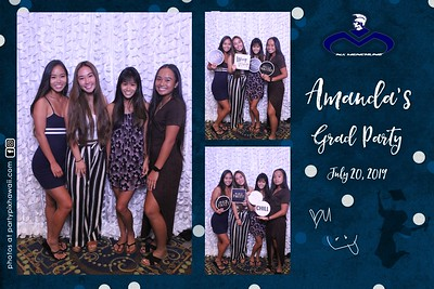 Amanda's Graduation (Magic Mirror Photo Booth)