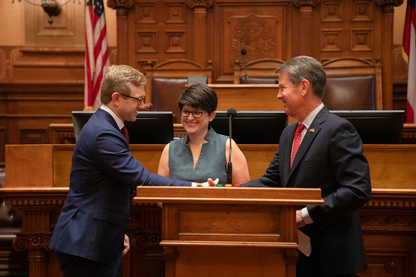 08.30.2021 Judge Andrew Pinson Swearing In