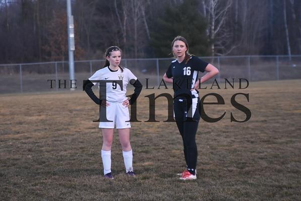 LUHS Girls' Soccer vs. Shawano Community March 28, 2019