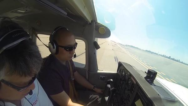 2017-06-12 Flight steep turns stalls