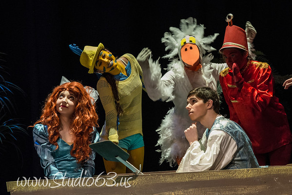 Little Mermaid Jr Theatrical Production