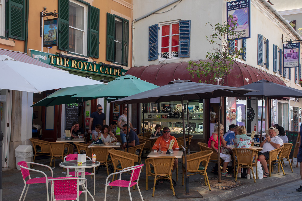 The Royal Calpe Pub in Gibraltar