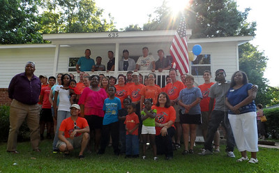 Army veteran Anderson Ferrell home repair with Home Depot