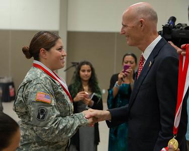 7-27-2015 Miami - Veterans Medal Ceremony