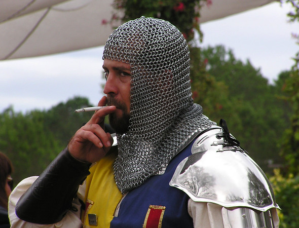 Sir Breaking of Character<br /> Renaissance Festival, Magnolia, TX
