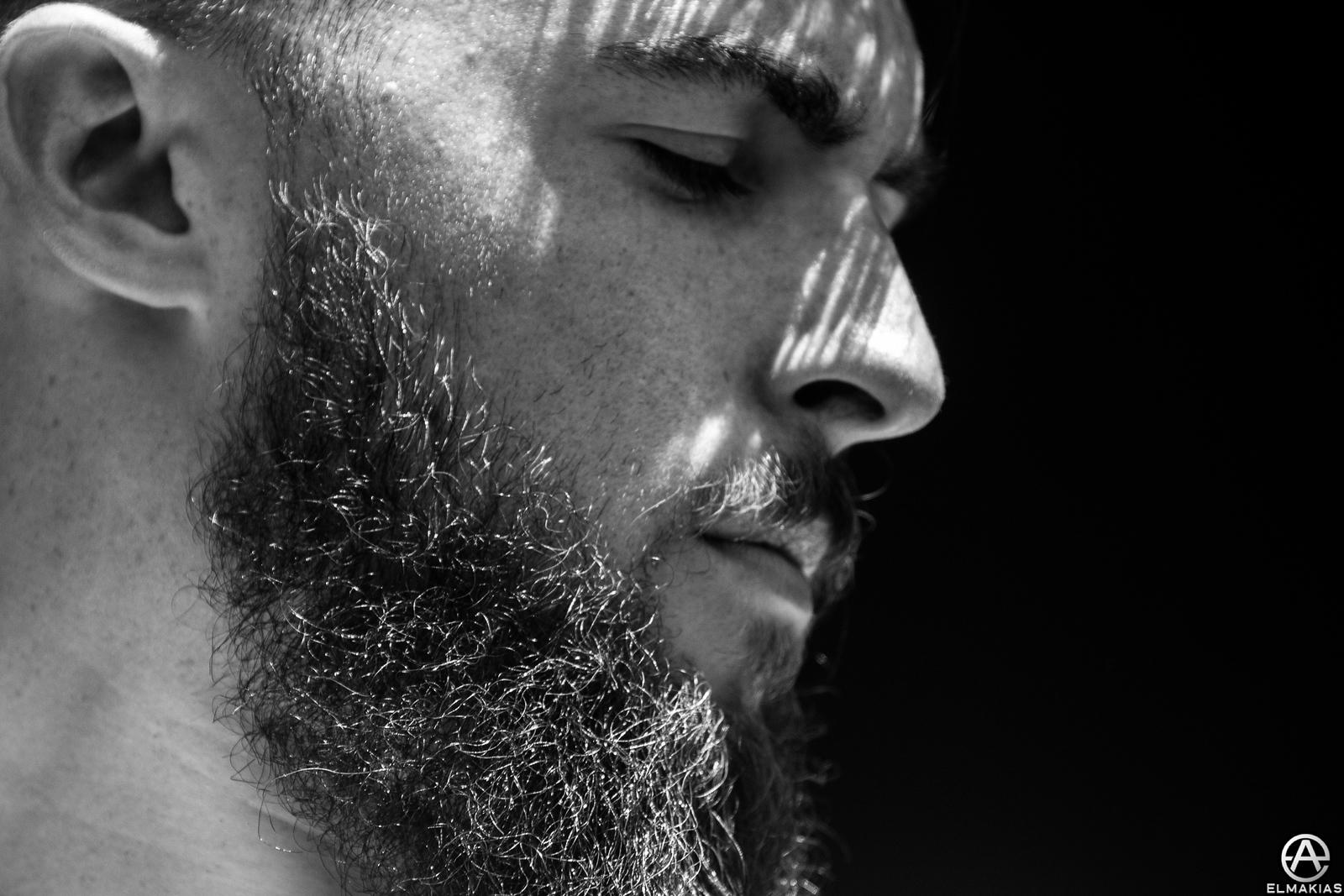 Onstage Portrait - Matt West of Neck Deep