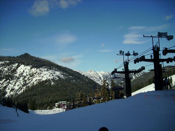 Steven's Pass Snowboarding