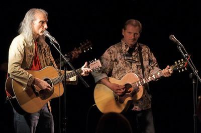 Butch Hancock & Jimmy Dale Gilmore at Mercury Hall