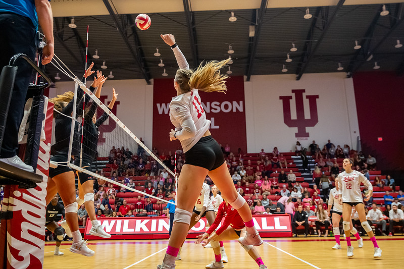 Indiana University Volleyball vs Northwestern