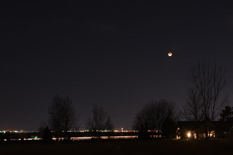 Solar Eclipse Centennial Airport