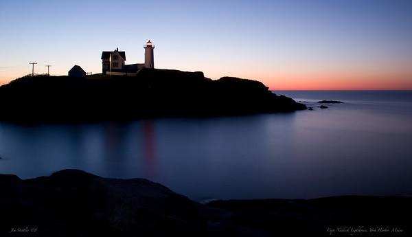 Cape Neddick Lighthouse York Harbor, Maine 2/20