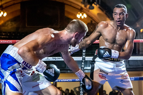 Tyler Denny vs Reece Cartwright English Middleweight Title 23rd Sept 2018