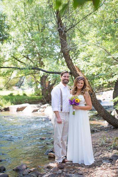 Emily and Derek's Colorado Wedding