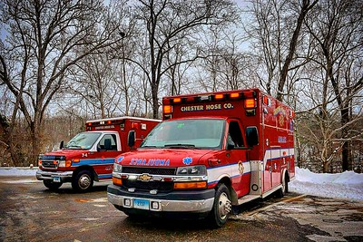 Apparatus Shoot -Chester Ambulance, Chester, CT - 1/9/17