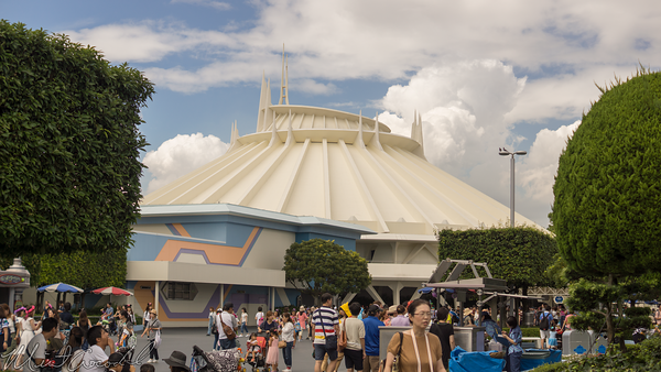 Disneyland Resort, Tokyo Disneyland, Tomorrowland, Space Mountain