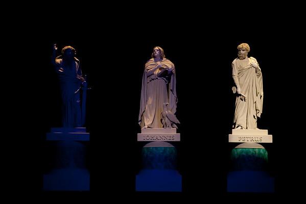 The Apostles - Peter, John and Paul