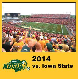 2014 Bison vs. Iowa State