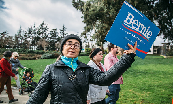 March For Bernie Oakland