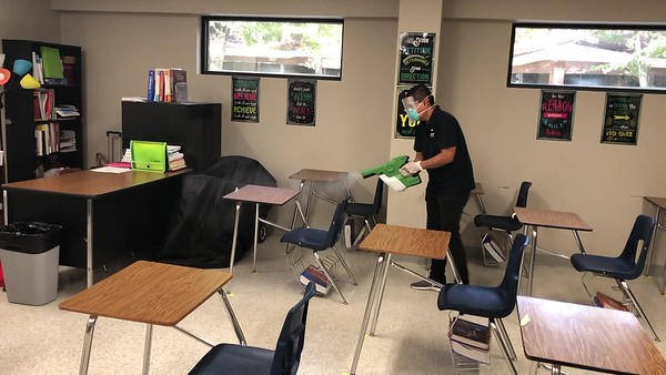 Sanitizing campus videos