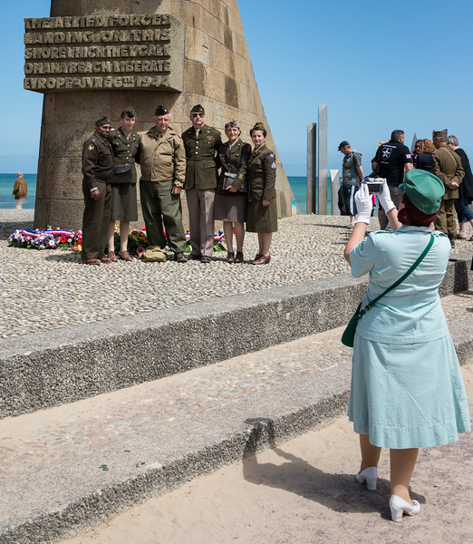 Reenactors...including the lady photographer