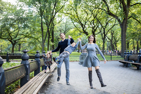 Alessandra + Luca, A Central Park Family Session