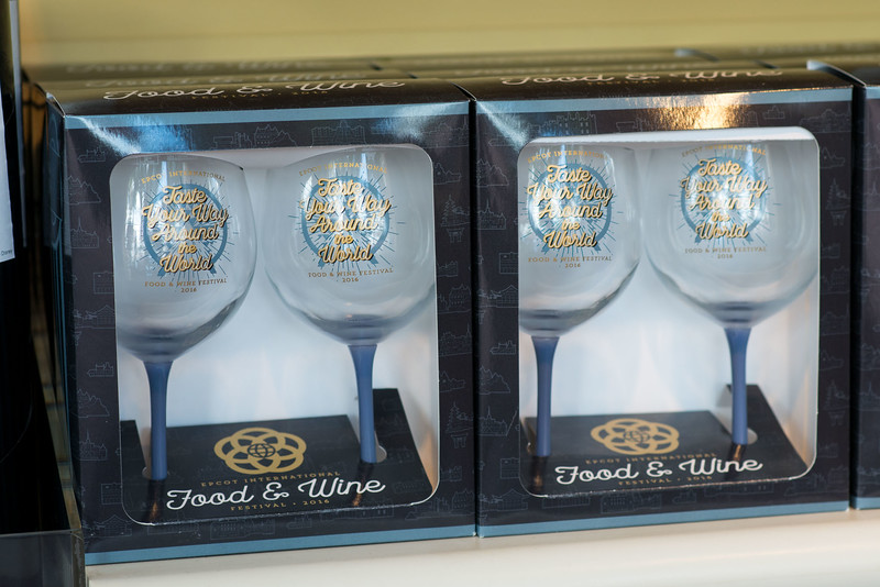 Goblets - Epcot Food & Wine Festival 2016