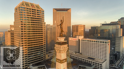 SOLDIERS & SAILORS MONUMENT, INDIANAPOLIS, INDIANA