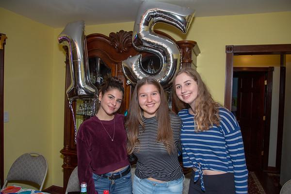 Michelle, 15 Years Celebration - November, 2018