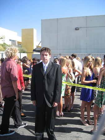 Maxwell's Graduation - Manhattan Beach Middle School