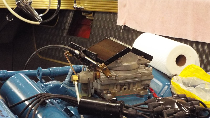 New throttle cable installed and adjusted.