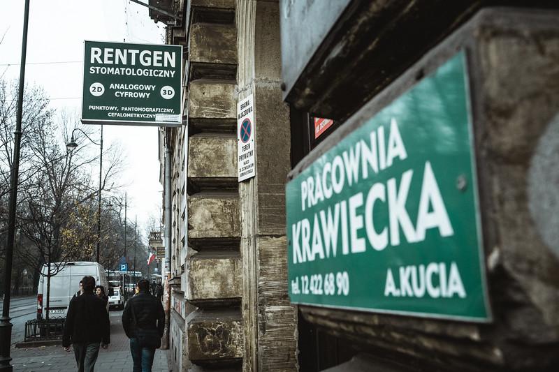 Street in Kraków