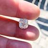 2.82ct Cushion Cut Diamond GIA I VVS2 3