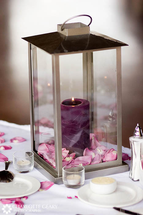 Wedding centerpiece lantern
