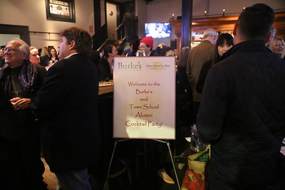 Town + Burke's Alumni Cocktail Party | January 17, 2018