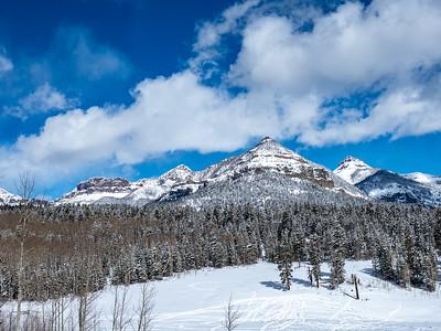 Burro Park Snow Shoe, February 2021