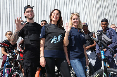 23/08/19 - Bikes up Knives down campaign